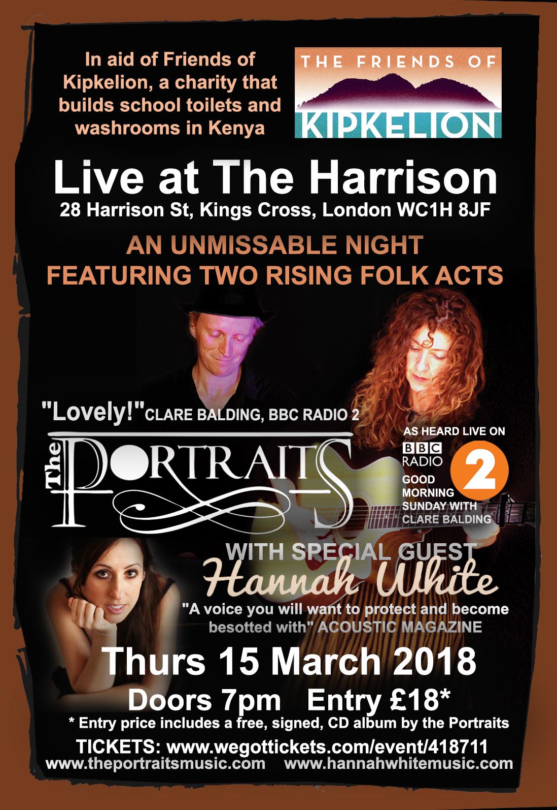 The Portraits Live at The Harrison